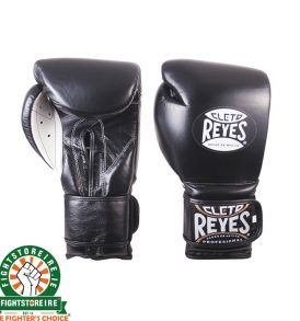 Cleto Reyes Velcro Sparring Gloves 12oz Black
