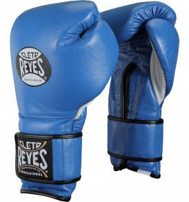 Cleto Reyes Velcro Sparring Gloves 12oz Blue