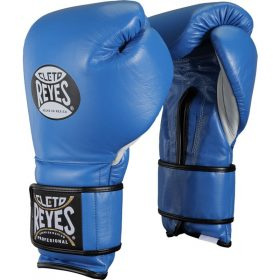 Cleto Reyes Velcro Sparring Gloves 12oz Blue