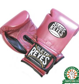 Cleto Reyes Velcro Sparring Gloves - Pearl Pink