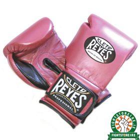 Cleto Reyes Velcro Sparring Gloves - Pearl Pink