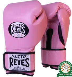 Cleto Reyes Women's Velcro Sparring Gloves - Pink