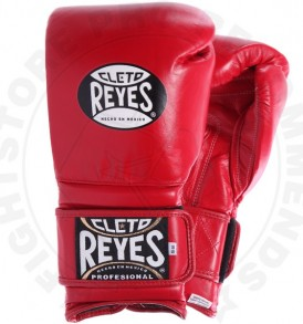 Cleto Reyes Velcro Sparring Gloves - Red