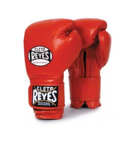 Cleto Reyes Velcro Sparring Gloves 14oz Red