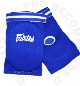 Fairtex EBE Competition Elbow Pads - Blue