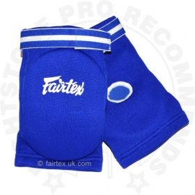 Fairtex EBE Competition Elbow Pads - Blue