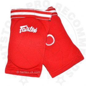 Fairtex EBE Competition Elbow Pads - Red
