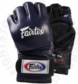 Fairtex FGV12 Ultimate MMA Gloves - Blue