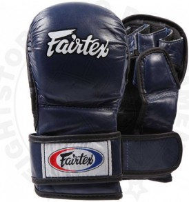 Fairtex FGV15 MMA Sparring Gloves - Blue