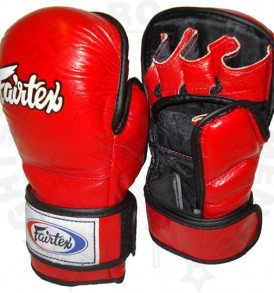 Fairtex MMA Sparring Gloves FGV15 - Red