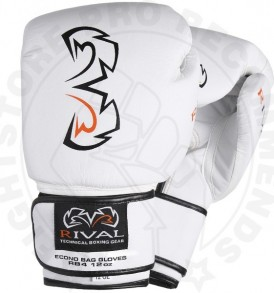 Rival RB4-Econo Bag Gloves - White
