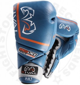 Rival RS1 Pro Sparring Gloves - Blue