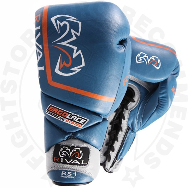 Rival Rs1 Pro Sparring Gloves Blue Fight Store Ireland