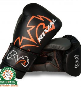Rival RS11V Evolution Sparring Gloves Black | Fight Store IRELAND