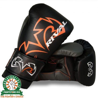 Rival RS11V Evolution Sparring Gloves Black   Fight Store IRELAND
