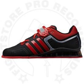AdiPower Weightlifting Shoes Black/Scarlet
