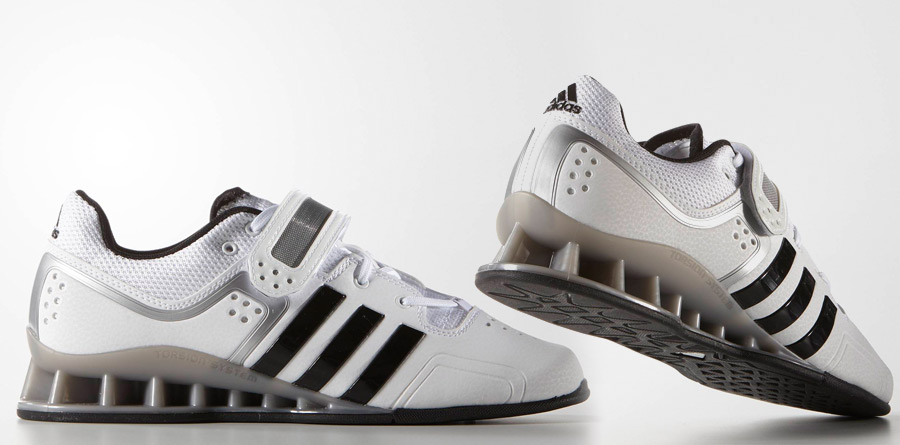 adipower weightlifting shoes white