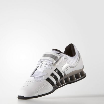new arrivals 3974f d2346 ... order adidas adipower weightlifting shoes white black grey 33f0e 4600d