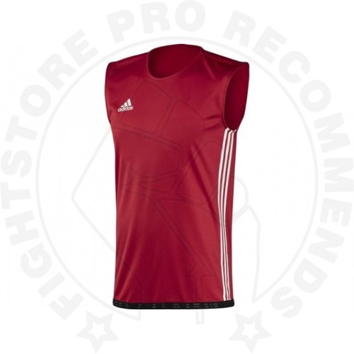 Adidas Box Classic Tank Top Male - Red/White