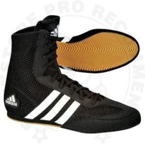 Adidas Box Hog 2 Boxing Boots - BlackWhite