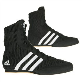 Adidas Box Hog 2 Boxing Boots - Black/White