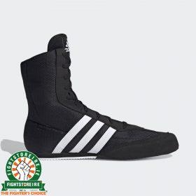 Adidas Box Hog 2 Boxing Boots - Black/White