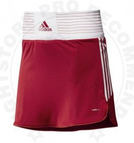 Adidas Box Skort Female - Red/White