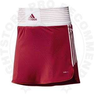 Adidas Box Skort Female - Red/White