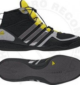 Adidas Boxfit 3 Boxing Boots Black/Grey/Yellow
