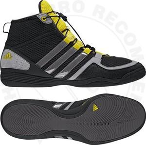 Adidas Boxfit 3 Boxing Boots Black/Grey/Yellow