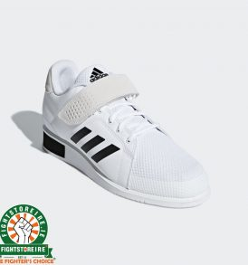 Adidas Power Perfect III Weightlifting Shoes - White