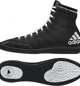 Adidas adiZero Wrestling Shoes - Core Black/White