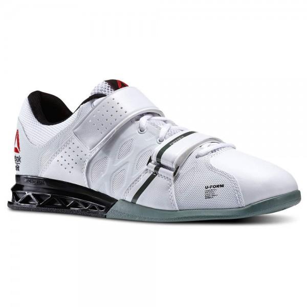reebok lifter pr. reebok crossfit lifter plus 2.0 \u2013 white/black/silvery green pr c