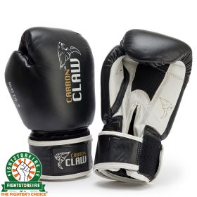 Carbon Claw AMT Leather Sparring Gloves - Black