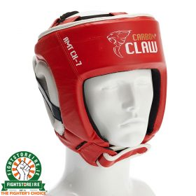 Carbon Claw AMT Lightweight Boxing Headguard - Red