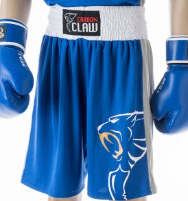 Carbon Claw AMT Premium Boxing Shorts - Blue