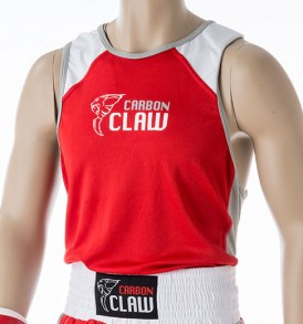Carbon Claw AMT Premium Boxing Vest - Red