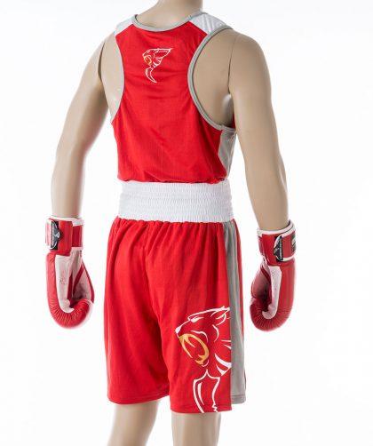 Carbon Claw AMT Premium Boxing Vest & Shorts - Red