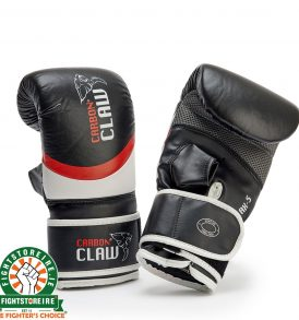 Carbon Claw Aero Punch Bag Mitts Red/Black
