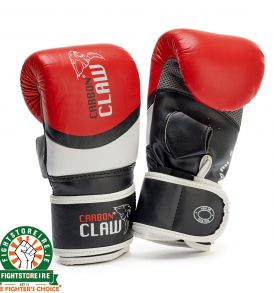 Carbon Claw Aero Punch Bag Mitts Black/Red