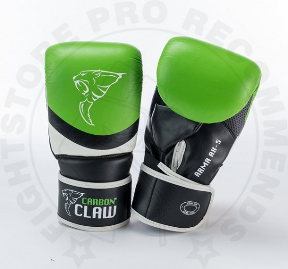Carbon Claw Arma Punching Mitt in Green-Black