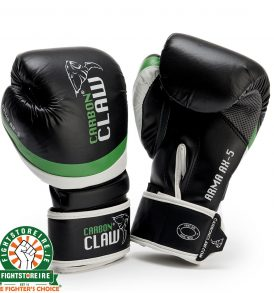 Carbon Claw Arma Sparring Gloves - Black/Green