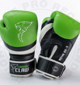 Carbon Claw Arma Sparring Gloves in Green/Black