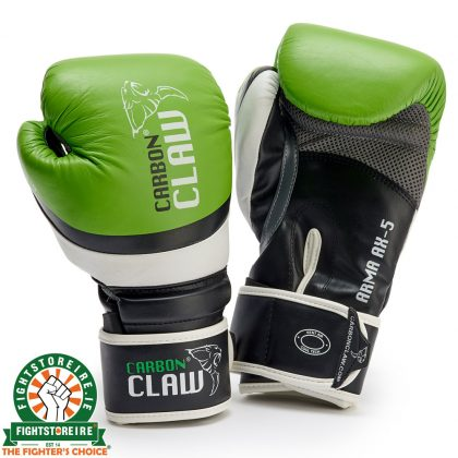 Carbon Claw Arma Sparring Gloves Green-Black