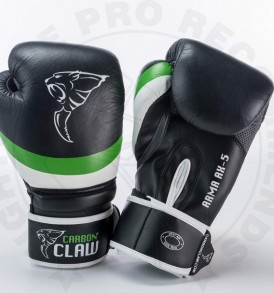 Carbon Claw Arma Sparring Gloves in Black/Green