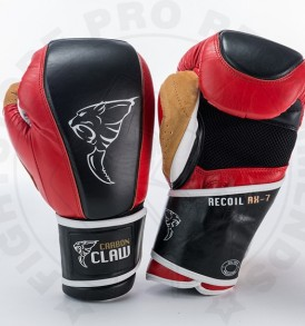 Carbon Claw Gym Pro Bag Gloves - Red/Black