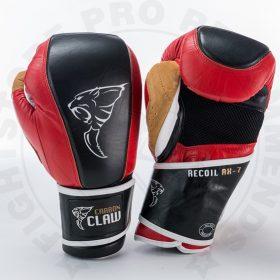 Carbon Claw Gym Pro Bag Gloves - Red/Black