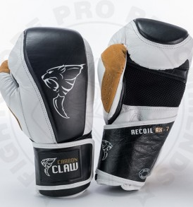 Carbon Claw Gym Pro Bag Gloves in White/Black: