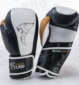 Carbon Claw Gym Pro Gloves - White/Black