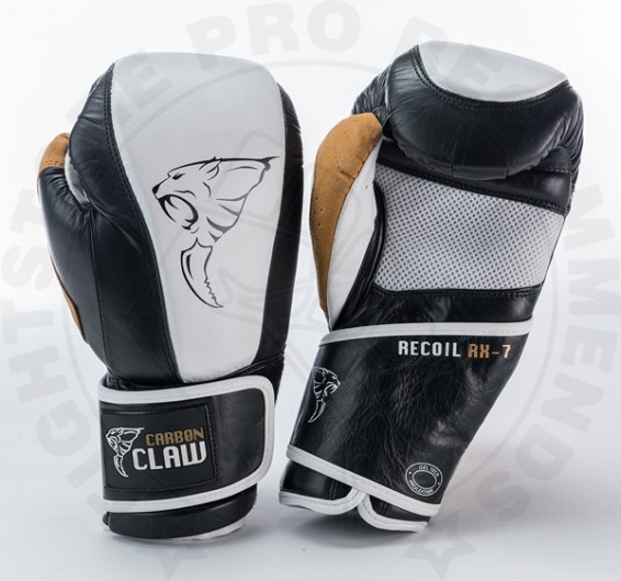 Carbon Claw Gym Pro Gloves - White/Black